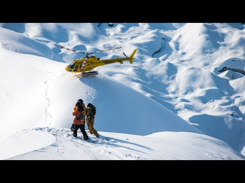 360 Degree Snowboarding in Alaska