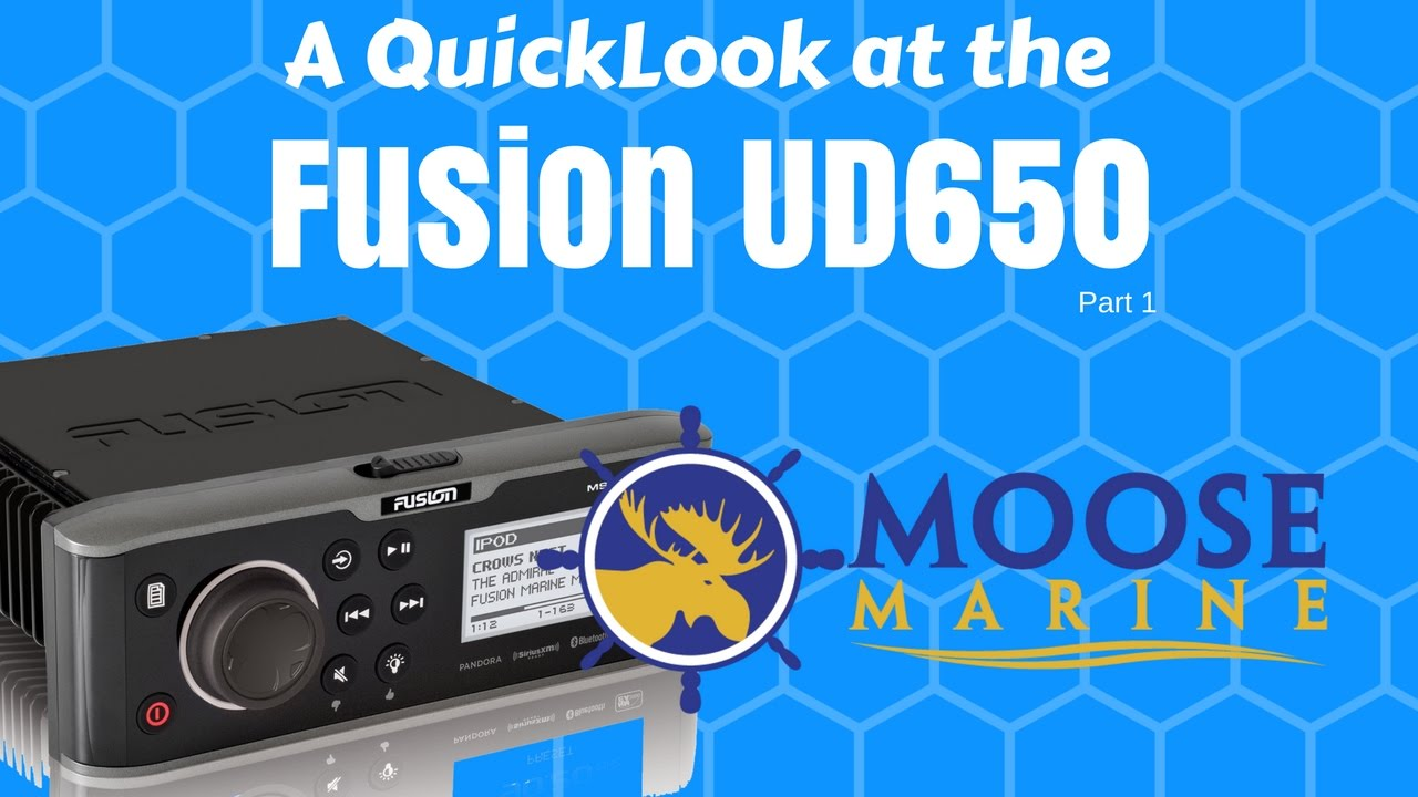 Fusion Ud650 Open Box Quicklook With Moose Part 1 Marine Wiring Harness