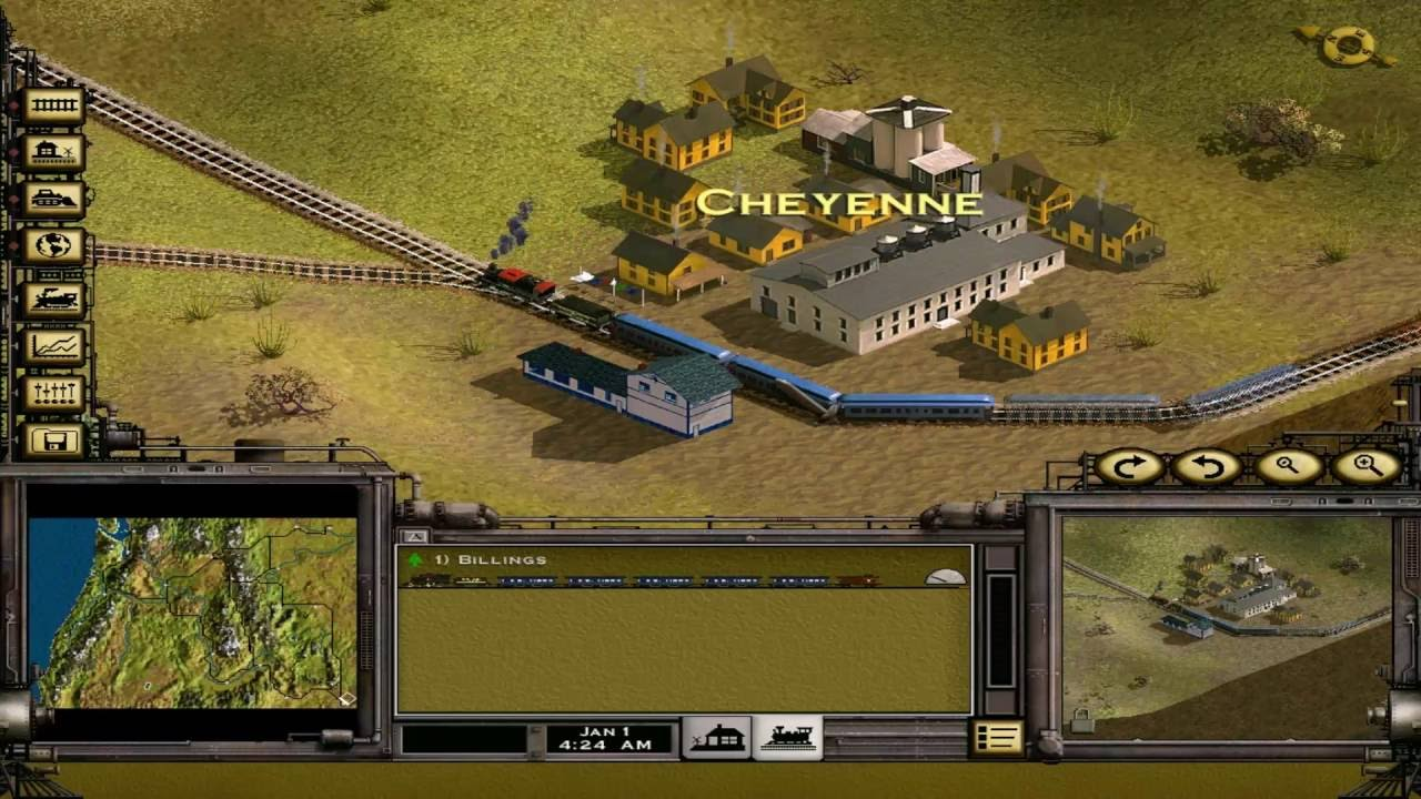 Railroad Tycoon 2 Platinum - 05 - Classic Campaign: Whistle Stops and  Promises