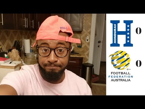 Honduras vs Australia 0-0 Reaction | 2018 FIFA World Cup Intercontinental Playoffs