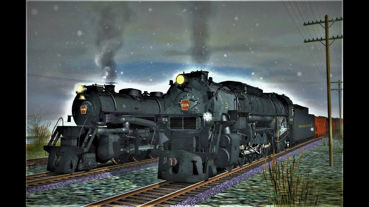 A busy day on the PRR horseshoe curve! (TS19) by justin calvin