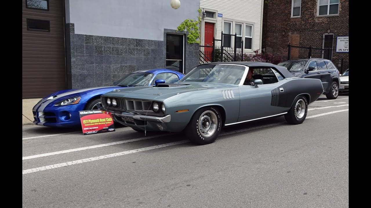 Ride In A Rare 1971 Hemi Plymouth Cuda Convertible Why Not On My Car Story With Lou Coile