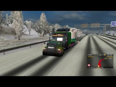 Heavy hauling 200,000 lbs | Bad wreck! Euro Truck Simulator 2 | Part: 1