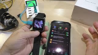 11 - Smart Watch X6 - телефон на руке а-ля эпл. Распаковка
