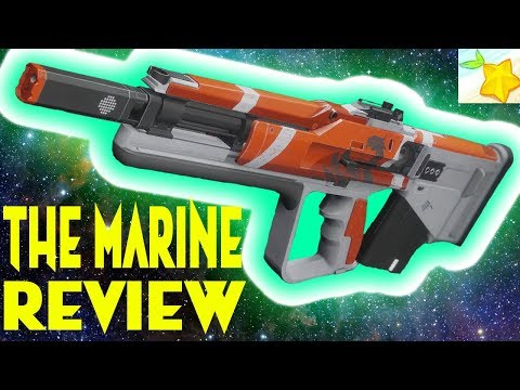 Destiny 2: WARMIND THE MARINE review!!!!!!!! Valor rank 3 reward!!!!!!!