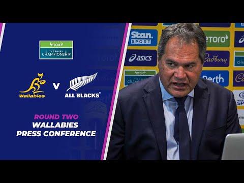 Bledisloe three: Wallabies post match press conference
