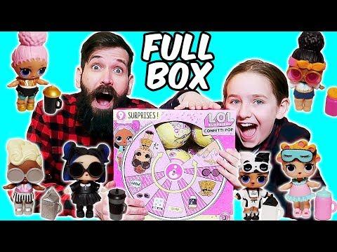 LOL Confetti POP Surprise Series 3 Wave 1 FULL BOX