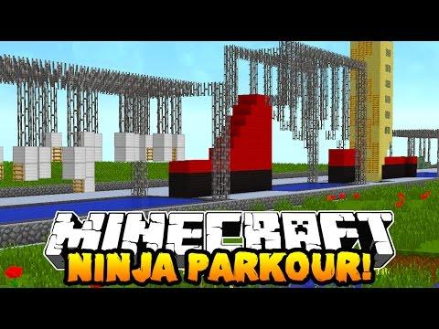 Minecraft NINJA WARRIOR PARKOUR COURSE! (Special Obstacles!) w/PrestonPlayz & Kenny
