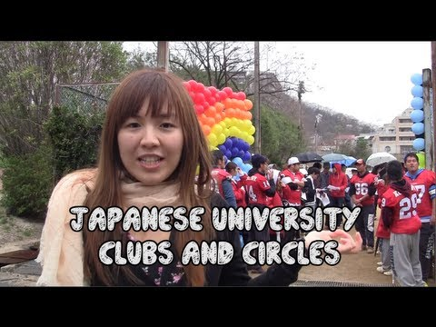 Japanese University Clubs and Circles; which one will you choose?