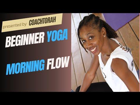 Yoga On The Beach - Morning Flow.