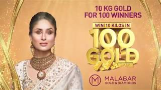 Win up to 10 Kilos of Gold for 100 winners at Malabar Gold & Diamonds- Malaysia