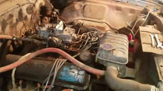 1964 Ford Galaxie 500 farm find running again
