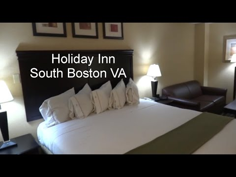 It's Hotel Tour Time! Holiday Inn South Boston VA