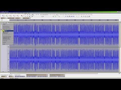 Cleaning Up Wildlife Audio Files With Audacity  [Crickets, Birds, etc.]