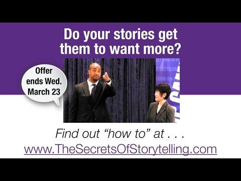 Craig Valentine's New Secrets of Storytelling Video Course