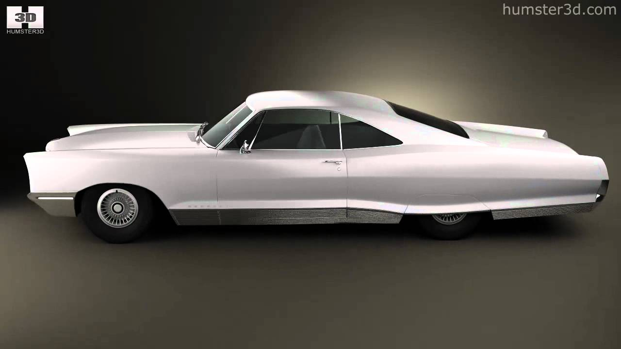 medium resolution of pontiac bonneville hardtop 2 door 1966 by 3d model store humster3d com