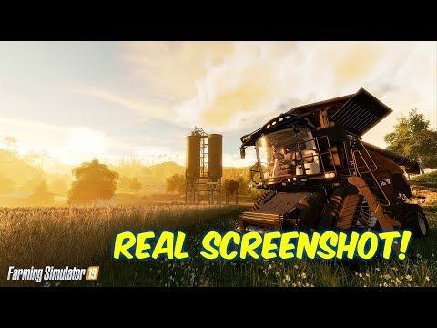 Farming Simulator 19-- NEW FIRST SCREENSHOT REVEALED!--Did you see that?
