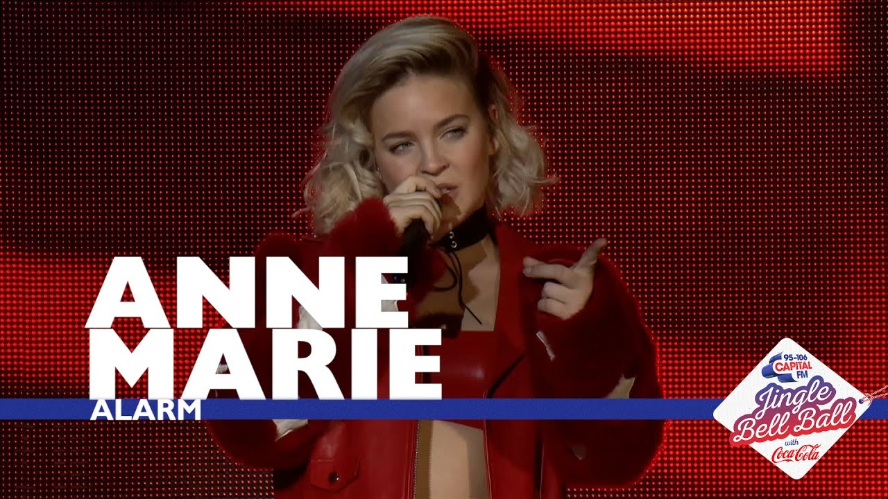 Anne Marie Alarm Live At Capital S Jingle Bell Ball 2016