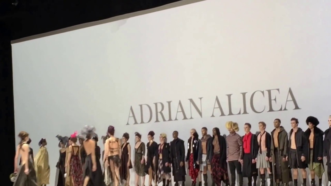Adrian Alicea Fall Winter 2017 At Style Fashion Week Youtube