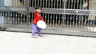 Two Years Old Child Balance Walking Training | Child Development | Time for Kid