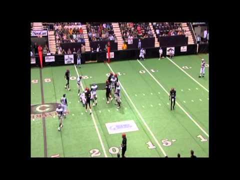 LaRoi Johnson 2010 CIFL highlights vs Cincy Commandos