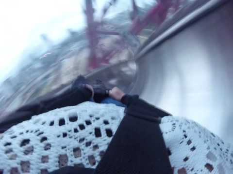 AttractionTix Rides The Slide at the Arcelormittal Orbit
