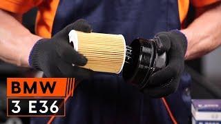 Como substituir óleo de motor e filtro de óleo noBMW 3 E36 [TUTORIAL]