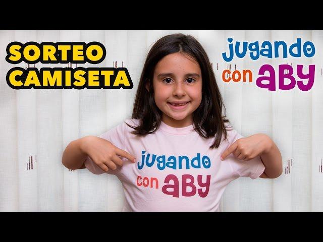 Anuncio De Sorteo De Camiseta Jugando Con Aby Youtube