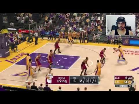 NBA2K17 - Cleveland Cavaliers x Los Angeles Lakers