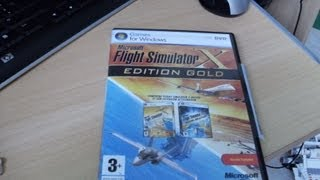 présentation du jeu flight simulator x édition gold + bonus
