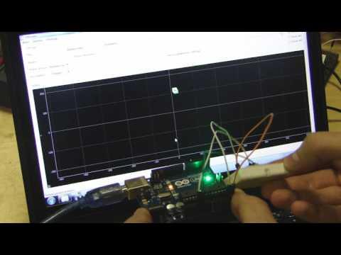 Использование SFMonitor для визуализации показаний Adxl345