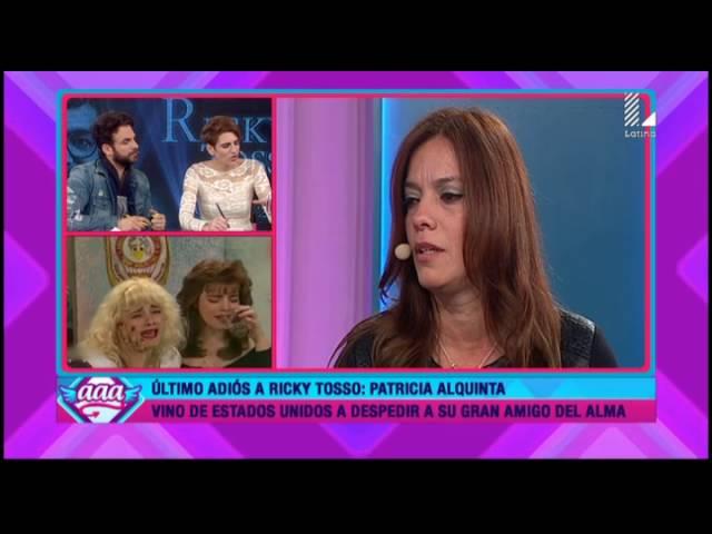 Patricia Alquinta asegura que Ricky Tosso se despidió de ella de esta manera