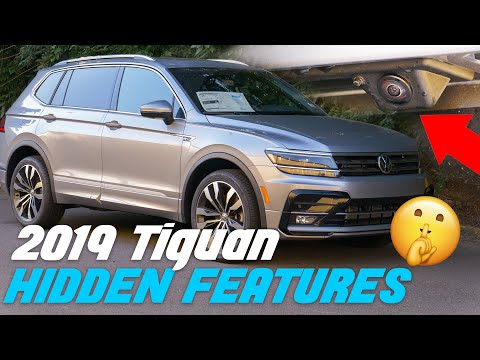 2019 Volkswagen Tiguan - Top 5 Hidden Features - *Secret*