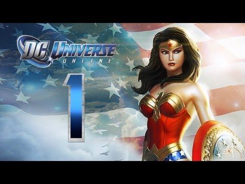 DC Universe Online: Walkthrough/Playthrough   Part 1 [Hero]