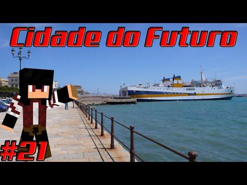 A REFORMA DO PORTO! - Minecraft Cidade do Futuro #21