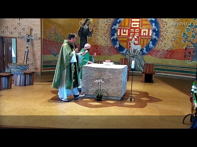 Santa Missa Dominical 16º Domingo do Tempo Comum- 18/07/2021