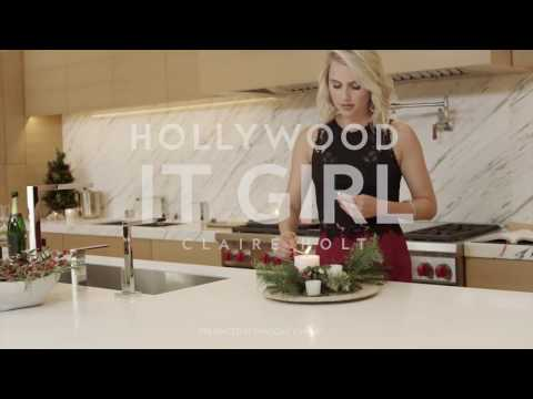Holiday Entertaining with Claire Holt