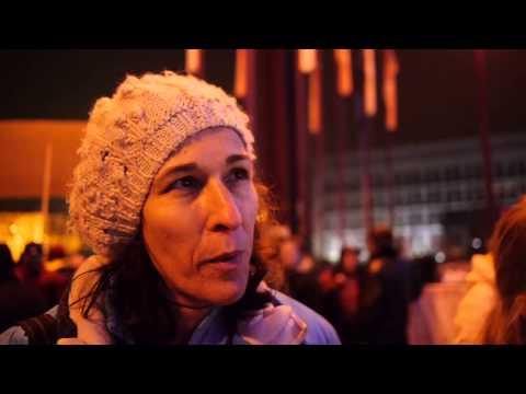 Kaj so povedali protestniki? - What the slovenian protesters are saying? subtitled
