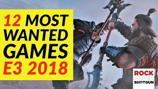 E3 2018 | 12 Most Anticipated Pc Games Of E3