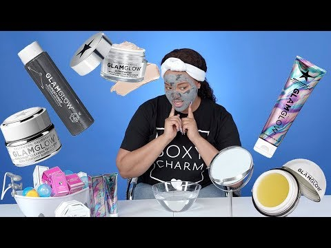 Quick Skin Care Routine Using Glam Glow   May's Boxycharm