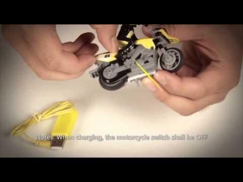 xe mô tô mini điều khiển từ xa - http://quatangmqd.com/