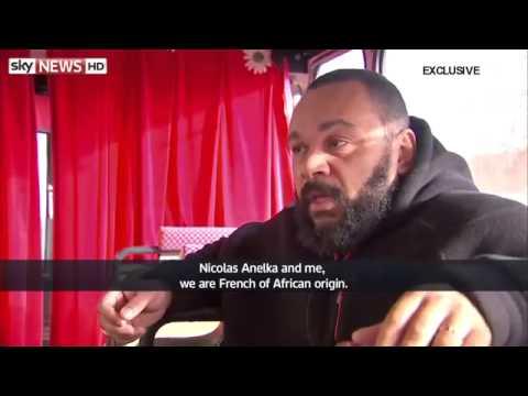 EXCLU!!!interview Dieudonne sur la quenelle d anelka
