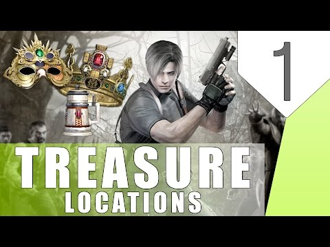 Resident Evil 4- Hidden Treasure Locations- Part 1