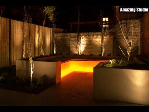 Small Garden Lighting Ideas YouTube