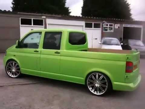 vw transporter king cab style close up spy youtube. Black Bedroom Furniture Sets. Home Design Ideas