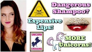 What's Up in Makeup | The EPA Gives A Warning, The Most Expensive Lips EVER, and MORE Unicorns!