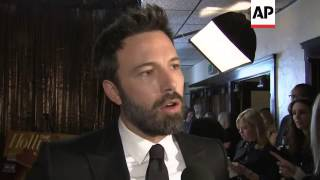 Producer-director-actor Ben Affleck and his 'Argo' team win big at 19th Annual Screen Acto