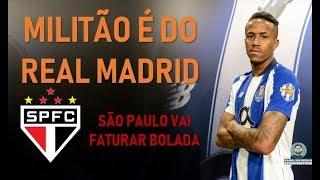 REAL MADRID FECHA COM EX-SÃO-PAULINO MILITÃO