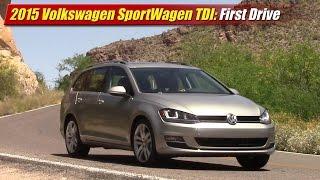 2015 Volkswagen Golf SportWagen TDI First Drive