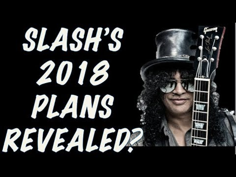 Guns N' Roses News: Slash's 2018 Plans Revealed? The Rock Sings Welcome to the Jungle!